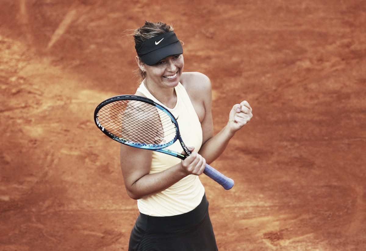 WTA Rome: Maria Sharapova stuns Jelena Ostapenko in three-hour thriller