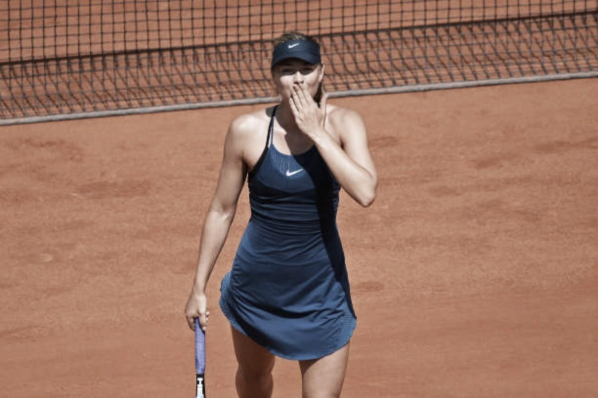 French Open: Maria Sharapova stuns Karolina Pliskova in 59 minutes