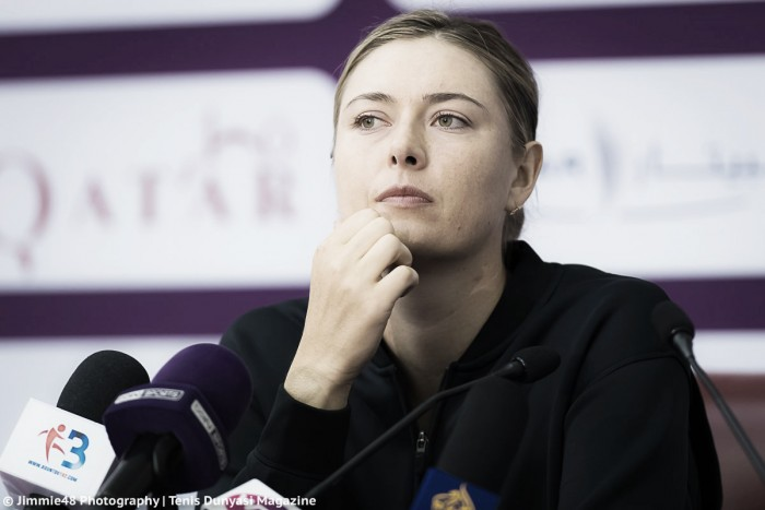 WTA Doha: Maria Sharapova upbeat despite tough loss against inspired Monica Niculescu