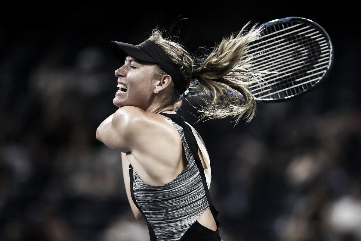 Com drama, Sharapova supera Schnyder na estreia do US Open