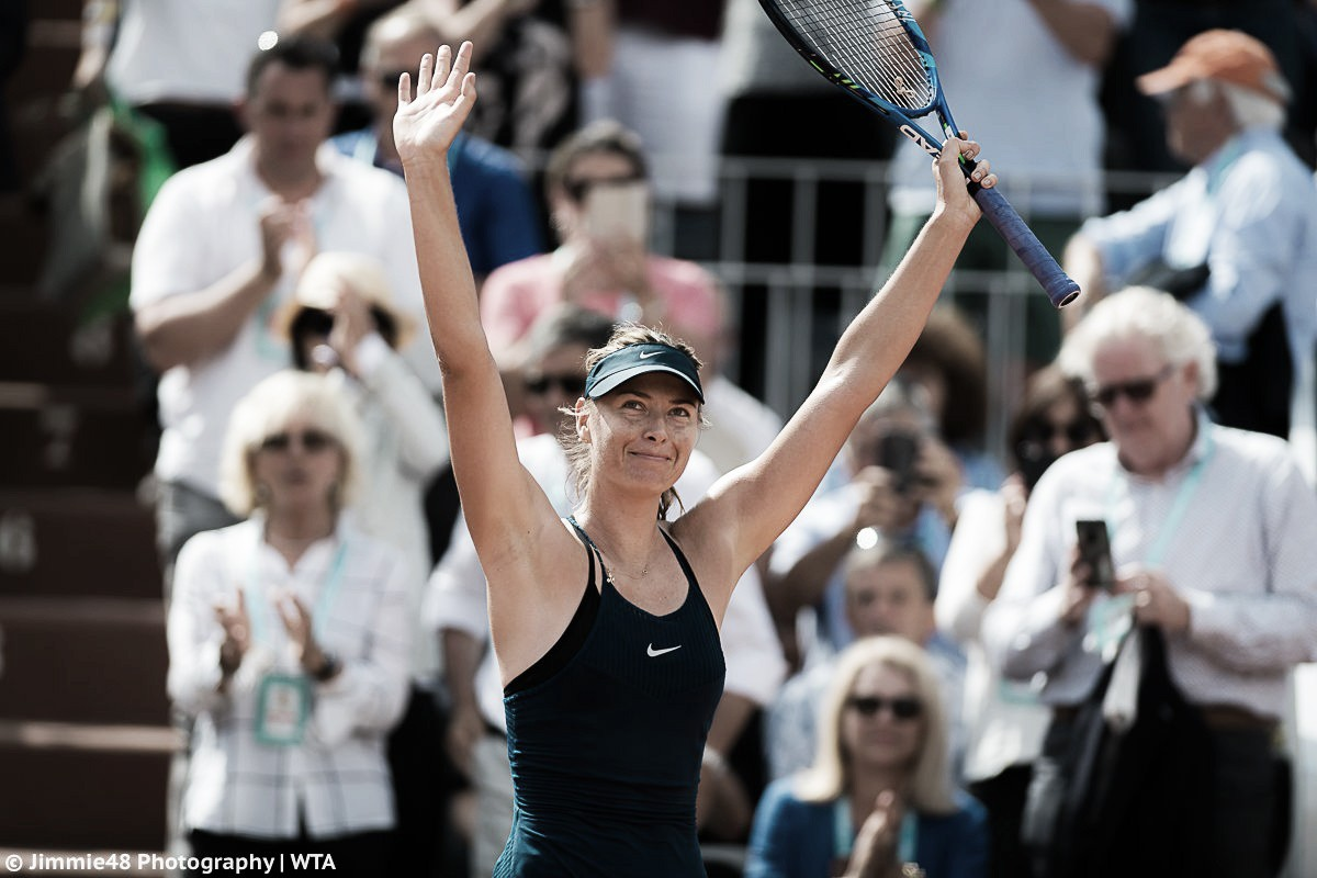 French Open: Maria Sharapova survives huge scare against Donna Vekic