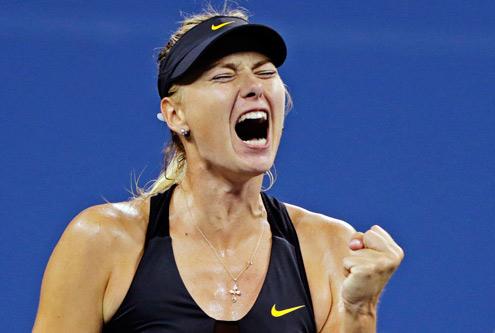 US Open: Sharapova sufrió pero no perdonó