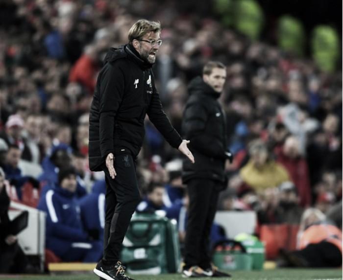"""Klopp mostra frustração com empate do Liverpool: """"Podemos fazer melhor"""""""