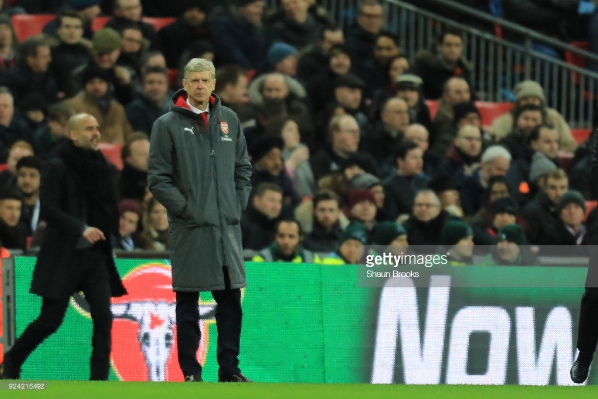 Arsene Wenger rues missed chances following Arsenal's Carabao Cup final defeat