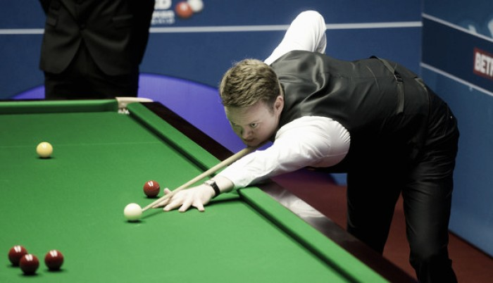 2016 World Snooker Championship: Murphy falls at the first hurdle