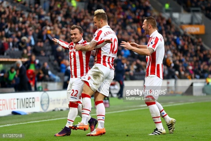 Hull City 0-2 Stoke City: Shaq attacks as the hosts lose again