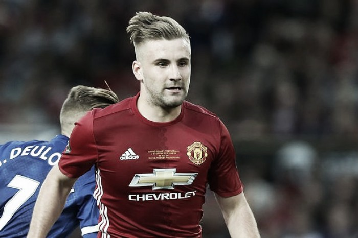 """Luke Shaw hoping to rid title as """"left-back who broke his leg"""" with success"""