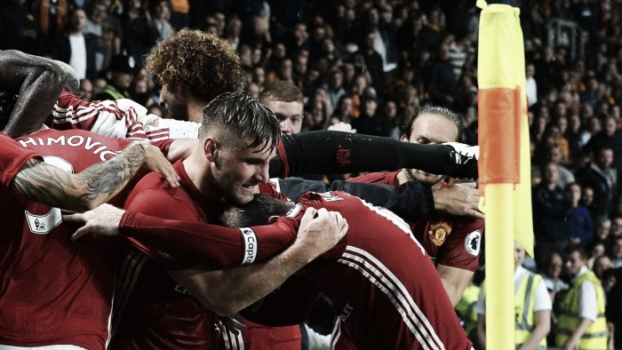 Celebrating Rashford's winner against Hull was the best feeling I've ever had, says Shaw