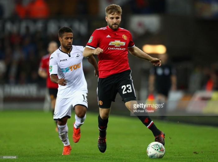 Luke Shaw linked with move to Tottenham Hotspur