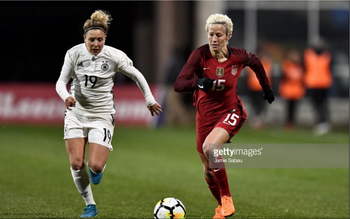 SheBelieves Cup 2018: USWNT 1-0 Germany - Megan Rapinoe strike sinks Germany in SheBelieves Cup opener