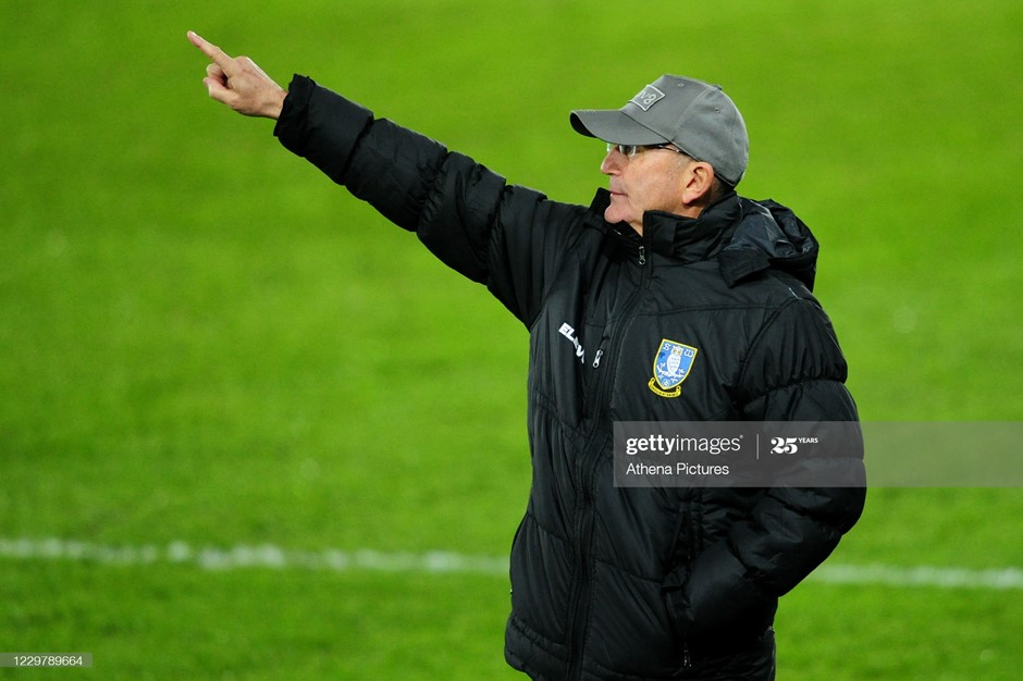 Sheffield Wednesday manager Tony Pulis. Photo: Athena Pictures/Getty Images.