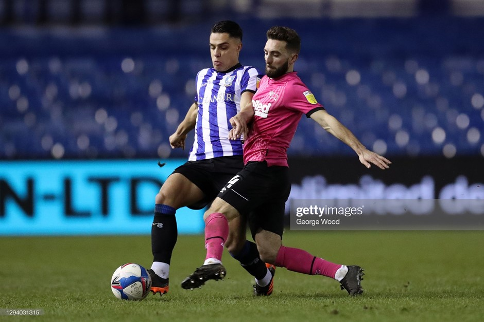 Sheffield Wednesday 1-0 Derby County: Owls climb out Championship drop zone