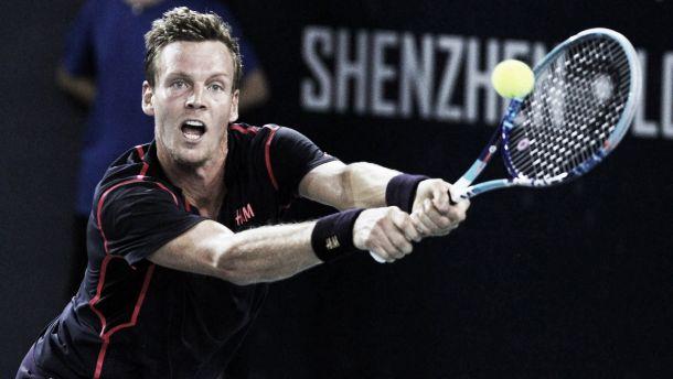 ATP Shenzhen, vincono Berdych e Garcia Lopez. Finale rimandata a domani