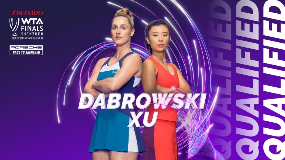 Gabriela Dabrowski and Xu Yi-fan qualify for the WTA Finals