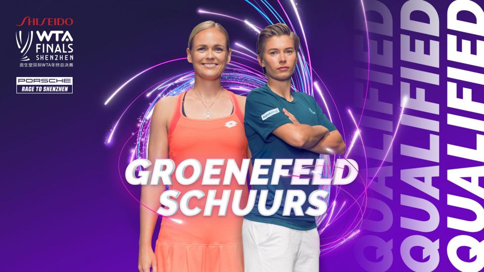 Anna-Lena Groenefeld and Demi Schuurs qualify for the WTA Finals