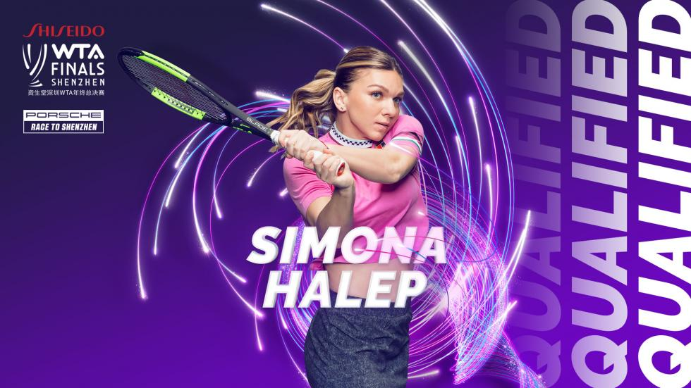 Simona Halep qualifies for the WTA Finals