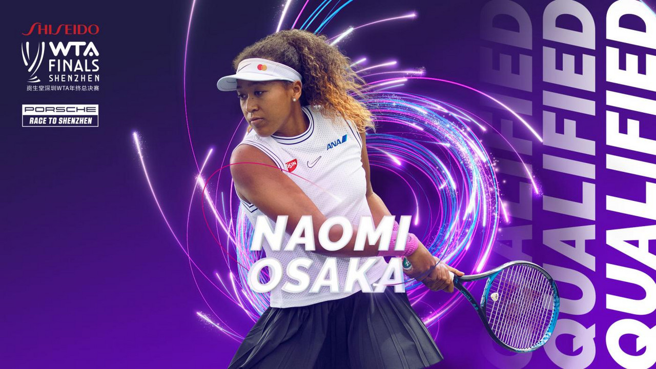 Naomi Osaka qualifies for the WTA Finals