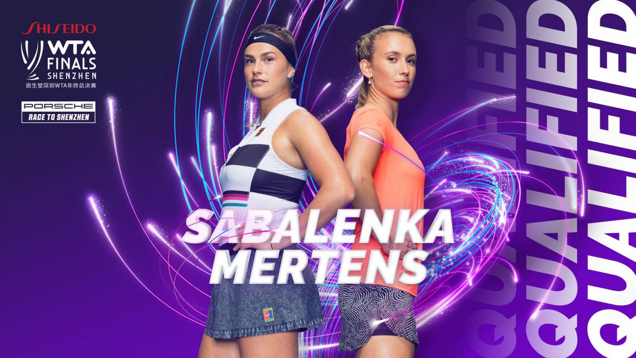 Elise Mertens and Aryna Sabalenka qualify for the WTA Finals