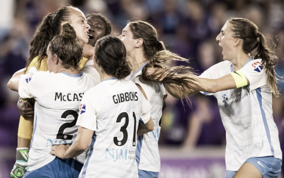 Kailen Sheridan saves a point for Sky Blue FC in a draw against the Orlando Pride