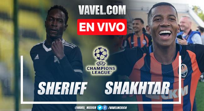 Goles y resumen del Sheriff 2-0 Shakhtar en UEFA Champions League 2021