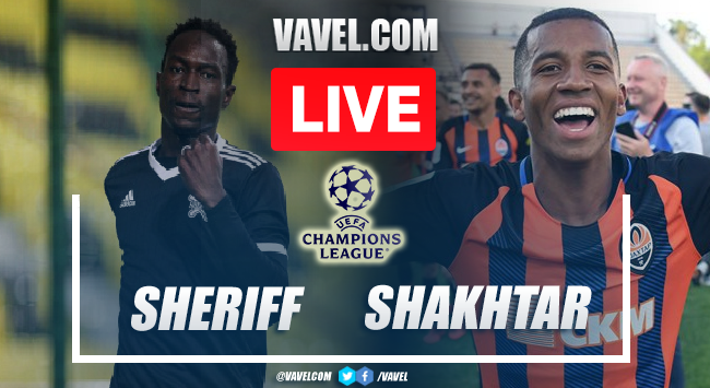 Goals and Highlights: Sheriff 2-0 Shakhtar in Champions League 2021