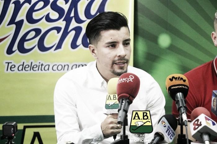 """Sherman Cárdenas: """"Estoy contento de estar en el equipo donde se me abrieron las puertas para el fútbol"""""""