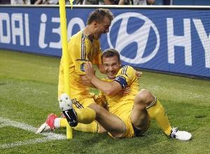 Shevchenko remonta ante Suecia y pone a Ucrania líder del grupo con un partido primoroso
