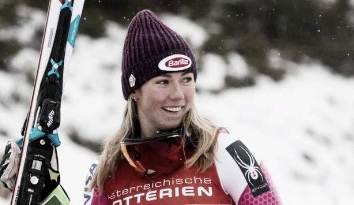 Sci Alpino Semmering, 1a manche Slalom: Shiffrin al comando