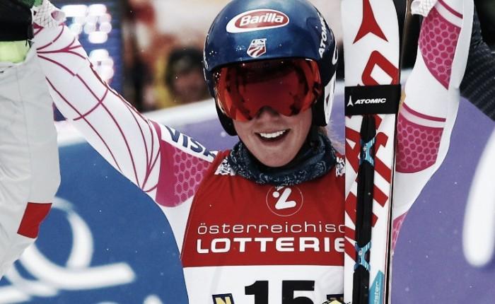 Sci Alpino, Mondiali St. Moritz: SUPER Shiffrin, terzo oro iridato consecutivo in slalom