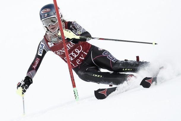 Risultati dello slalom femminile di Levi