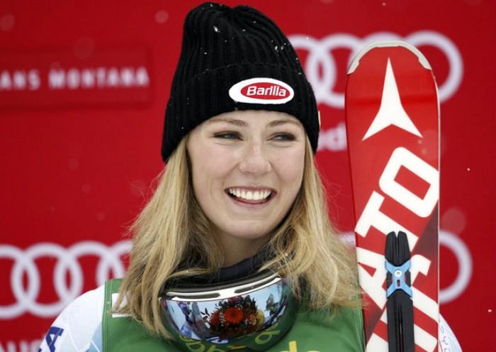 Sci Alpino - Levi, slalom femminile 1° manche: dominio Shiffrin