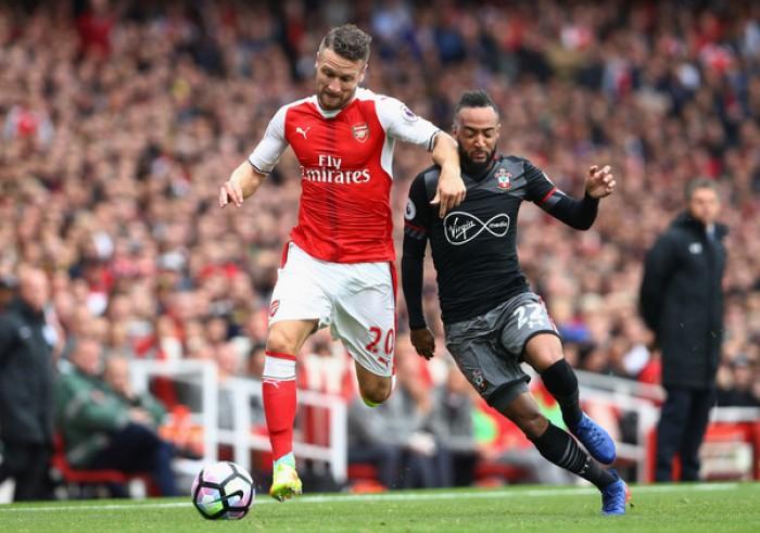 Arsenal, problema muscolare per Mustafi