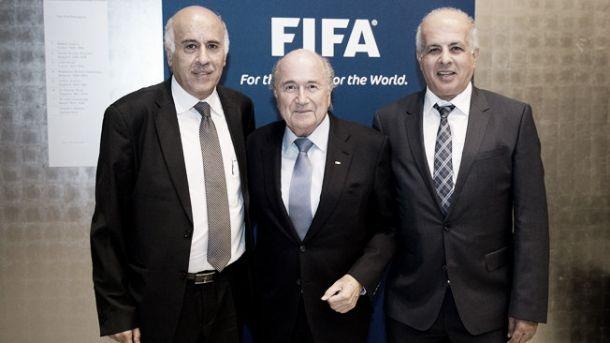 FIFA dirime conflito: Federação palestiniana queixa-se de Israel