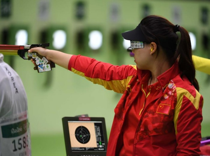 Rio 2016, pistola femminile: oro alla cinese Zhang