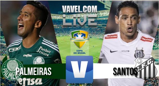 Resultado Palmeiras x Santos na final Copa do Brasil 2015 (2-1)
