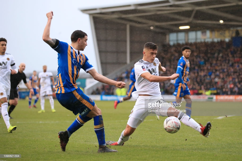 Wolverhampton Wanderers vs Shrewsbury Town Live Stream Score Commentary in FA Cup 2019 (2-2)