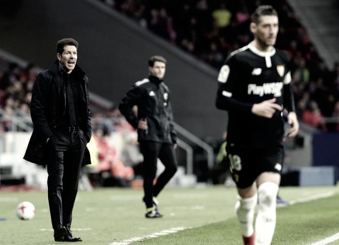 """Simeone: """"El que comete menos errores se lleva estas eliminatorias"""""""