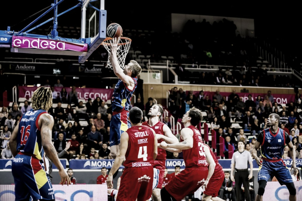 MoraBanc Andorra supera a un Tecnyconta carente de argumentos defensivos