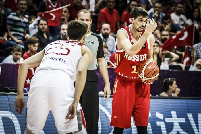 Eurobasket 2017 - Shved chiude il girone in bellezza, Russia batte Gran Bretagna (82-70)