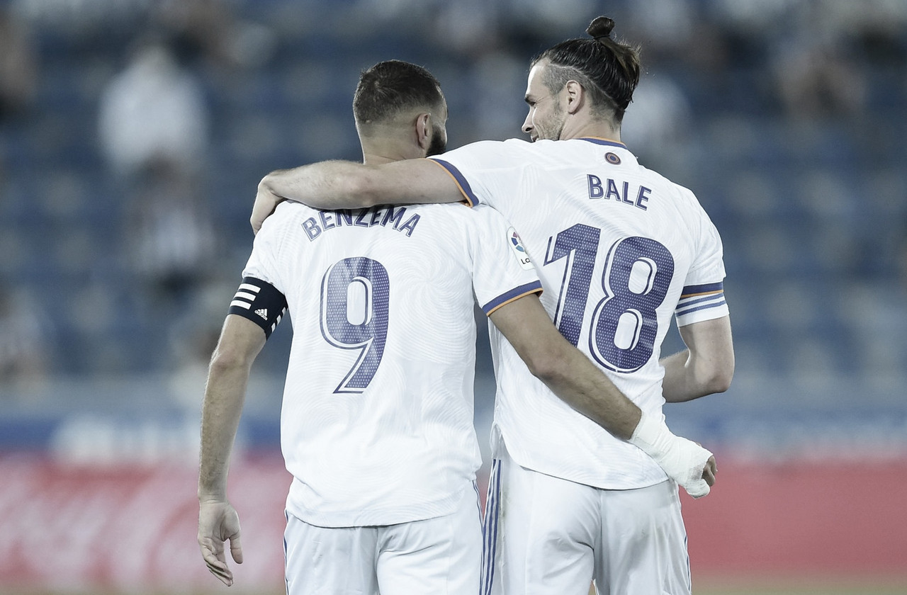 El Real Madrid inicia con paso firme con la vieja guardia
