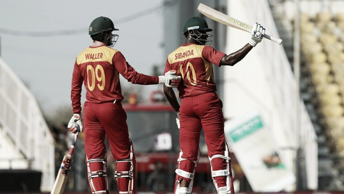 World T20: Sibanda half-century leads Zimbabwe to opening victory over Hong Kong