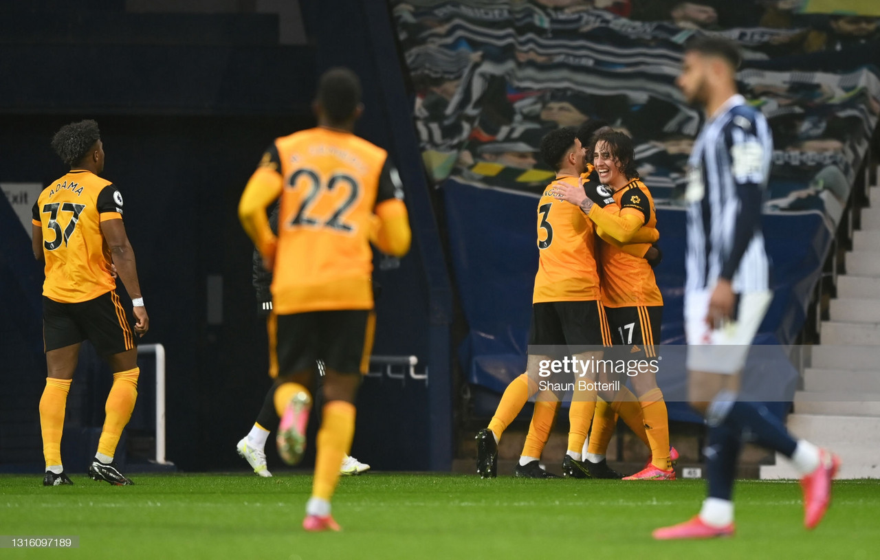 West Brom 1-1 Wolves: Baggies hold on to survival hopes