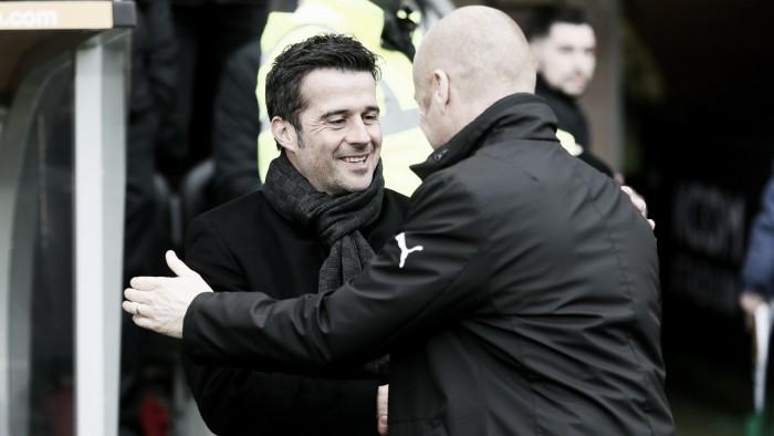 """Marco Silva: """"Burnley es un equipo desafiante, será un juego duro"""""""
