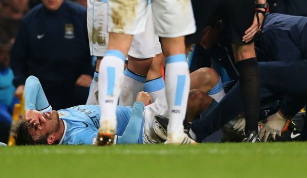 Injury News: David Silva out for three weeks