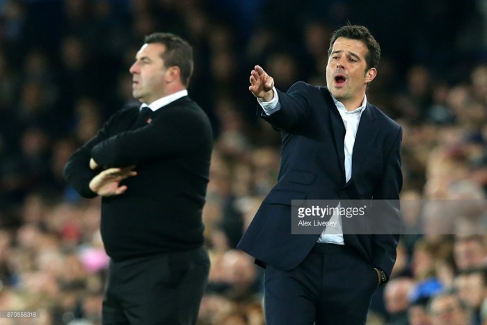 Marco Silva disappointed by Watford's late collapse away at Everton