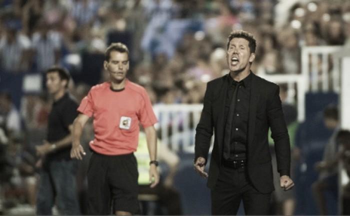 Simeone pede tranquilidade após segundo empate do Atlético na Liga