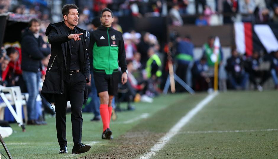 """Simeone: """"Griezmann es un jugador fundamental y está en un momento brillante"""""""