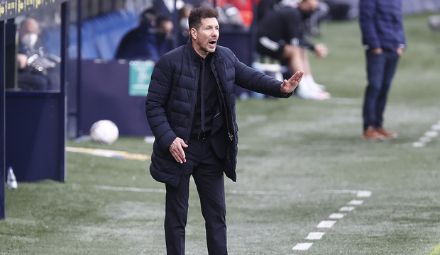 """Simeone: """"El partido fue muy disputado hasta el final"""""""