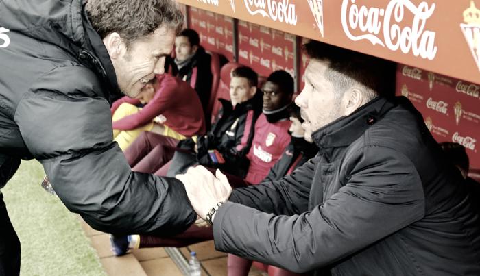"""Simeone: """"La entrada de Thomas y Saúl nos hizo estar más cómodos"""""""