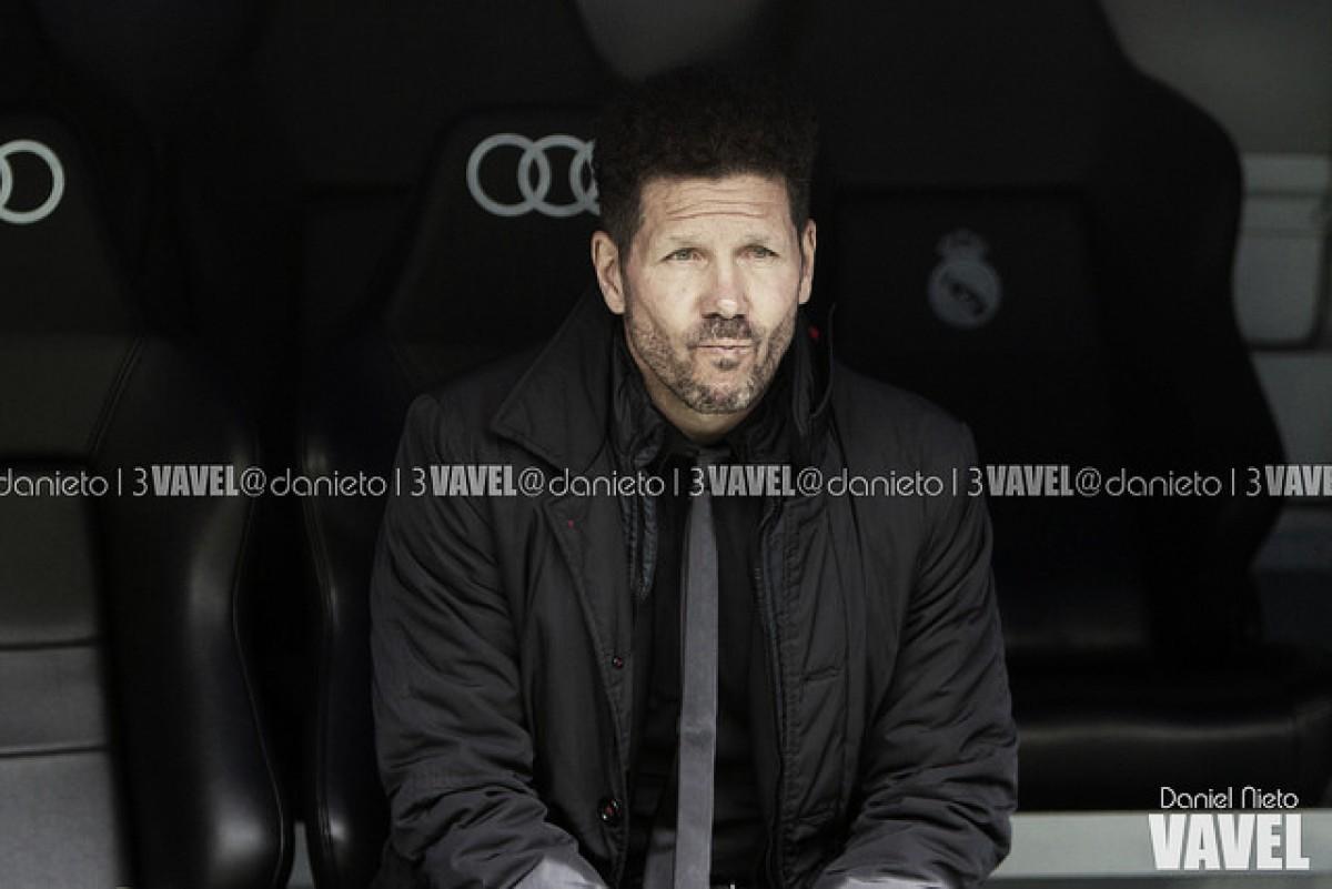 """Simeone valoriza empate no Bernabéu: """"Fizemos um esforço tremendo"""""""